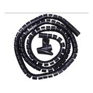 Ordenador Cubre Cables De 25mm X 2m Espiral C/ Accesorio