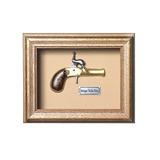 Quadro Réplica Arma Deringer Pocket Pistol - Clássico