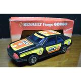Juguete Antiguo Auto Chapa Gorgo Renault Cupe Fuego Negra