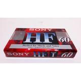 10 Cassettes Virgenes Sony Hf De 60 Minutos Casetes