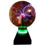 Lampara De Plasma Tesla Jumbo Super Luminosa Rayos