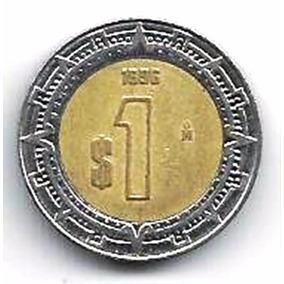 313 Dmd- Moeda 1996- México- N$ 1- Estados Unidos Mexicanos