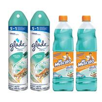 Relájate Con El Aroma De Paraiso Azul De Glade Y Mr Musculo