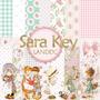 Kit Imprimible Sara Key* 14 Imágenes 6 Elem. 12 Fondos Promo