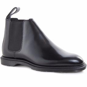 Zapatos Media Bota Dr Martens Wilde Cuero Hombre Importado