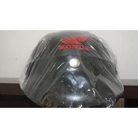 Capacete Coquinho Com A Logo Honda Em Bordado