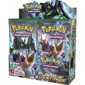 Booster Pokémon Xy 10 Fusão De Destinos Com 36 Pacotinhos