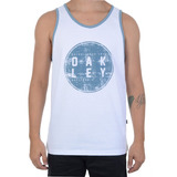 Camiseta Masculina Oakley Regata Especial Moon Logo