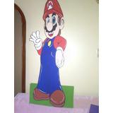 Figuras En Anime Y Mdf Para Decoraciones Mario Bross