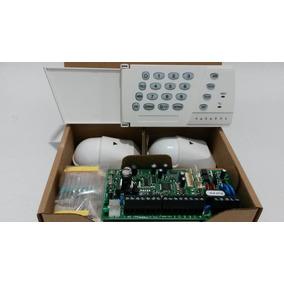 Alarma Paradox Sp4000 Kit 2 Pir Nv5 Teclado K636 Original!!!