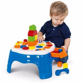 Mesa Educativa Com Atividades Infantil Play Time Cotiplas