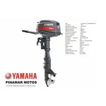 Motor Fuera De Borda Yamaha 2t Enduro E8dmhs 8 Hp