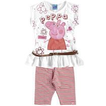 Conjunto Blusa Legging Peppa Pig Malwee