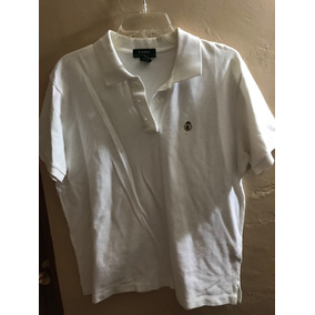 Playera Polo Lauren By Ralph Lauren Blanca Moda Hombre Cute