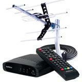 Conversor Digital De Tv Intelbras C/ Antena Ext. E Gravador