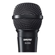 Micrófono Alambrico De Mano Shure Sv200