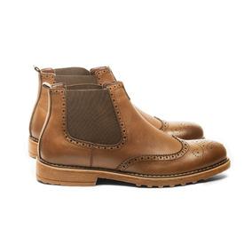 Zapato Tender Chelsea Marrón Mosaik iDLpnAMh6o