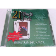Industria Del Amor - 21 Black Jack Nuevo Cd