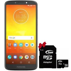 Celular Motorola E5 Plus 2 Gb 16 Gb Gris Combo Micro Sd