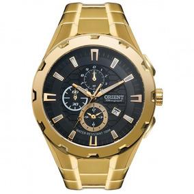 Relógio Orient Masculino Ref: Mgssc008 P1kx Cronógrafo Doura