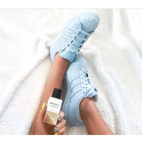 adidas Superstar Supercolor Pharrell Williams Celeste Pastel