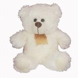Urso De Pelucia Branco 21cm Fizzy