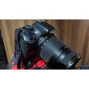 Canon Eos T2i + Lente 18-135 + 3 Bateria + Grip + Sd 16gb