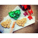 Cortador De Biscoito De Natal Forma Folha De Parreira De Uva