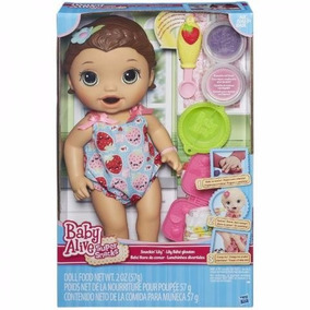 Boneca Baby Alive Lanchinhos Divertidos