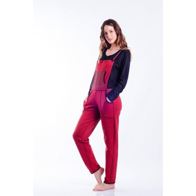 Mora Pijama Tipo Jardinero Serena Diseño Rayado Z251
