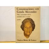 Conversaciones Con Gerda Alexander - Paidos - Edic. 1983