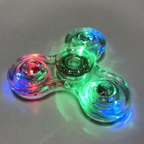Fidget Spinner Cristal De Luces. Somos Tienda..!