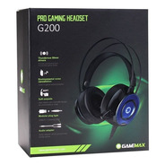 Headphone Pro Gaming Headset G200 Gamemax - 2998