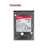 Disco Duro Toshiba L200, 500gb Sata 6.0gb/s, 5400 Rpm, 2.5 ,