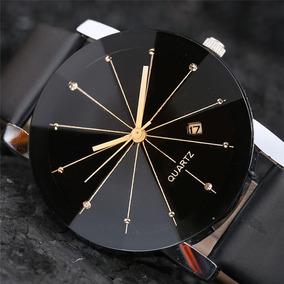 Relógio Feminino Preto Luxo Super Promoção Barato Importado