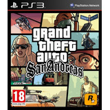 Grand Theft Auto: San Andreas Gta Ps3 Entrega Inmediata
