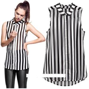 Blusa / Camisa De Chifon Importada - Ultima Moda