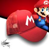 Boné Mario Bros