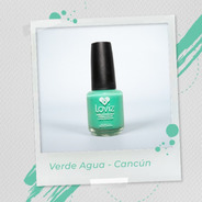 Verde Agua - Cancún | Esmalte De Larga Duración De 15ml