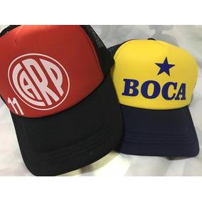Gorras Truckers Boca - River Personalizadas