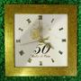 Relógio Bodas De Ouro Ou Prata - Maior - Pague Com Cartão