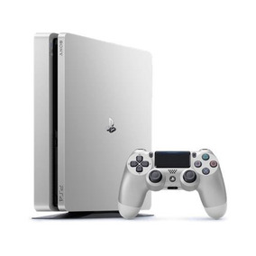 Ps4 Prata Slim 500gb Silver Ps4 Hdr Original Sony Prateado