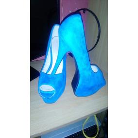 Zapatos De Tacones Altos Para Dama Talla 39 Azul Claro