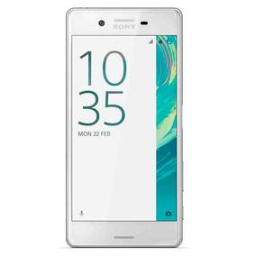 Celular Libre Sony Xperia X Blanco