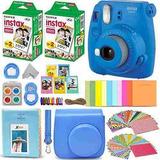 Fujifilm Instax Mini 9 Instant Camera Cobalt Blue + Fuji In