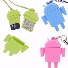 Adaptador Otg/microusb Con Forma De Android En Oferta