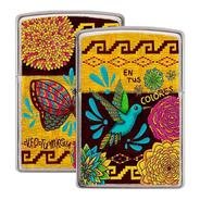 Encendedor Zippo Diseña Tu Mexico La Magia De Tus Colores