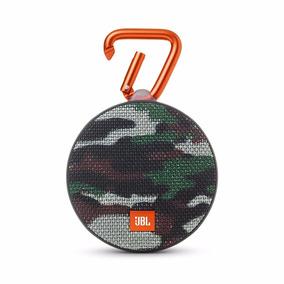 Caixa De Som Portátil Bluetooth Jbl Clip 2 Camuflada Squad