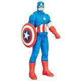 Muñeco Capitan America 50 Cm Con Escudo