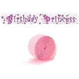 Cinta De Crepe Fiesta Princess - Niña